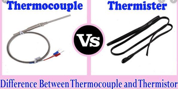difference between thermistor and thermocouple